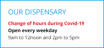 dispensary hours covid-19